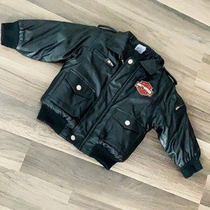 Super Awesome Genuine Leather Harley Jacket 24M